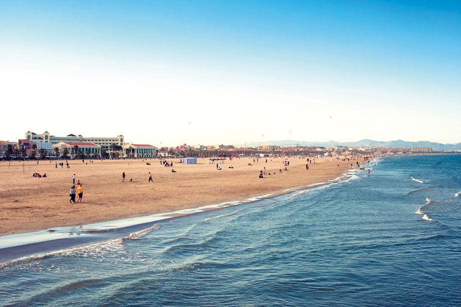 Una de nuestras playas es...