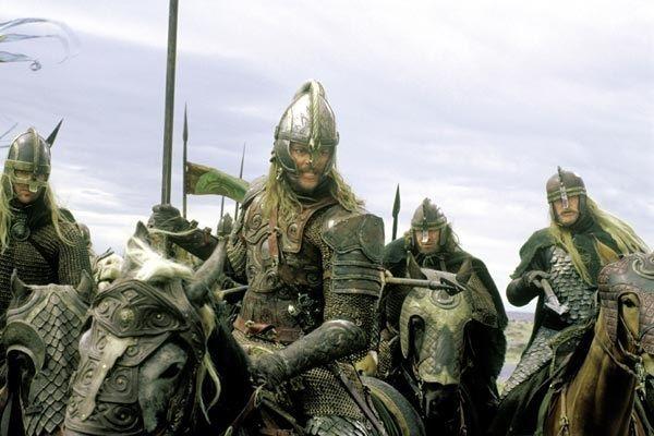 ¿Qué hubiera pasado si Éomer no hubiera encontrado a Aragorn, Legolas y Gimli?
