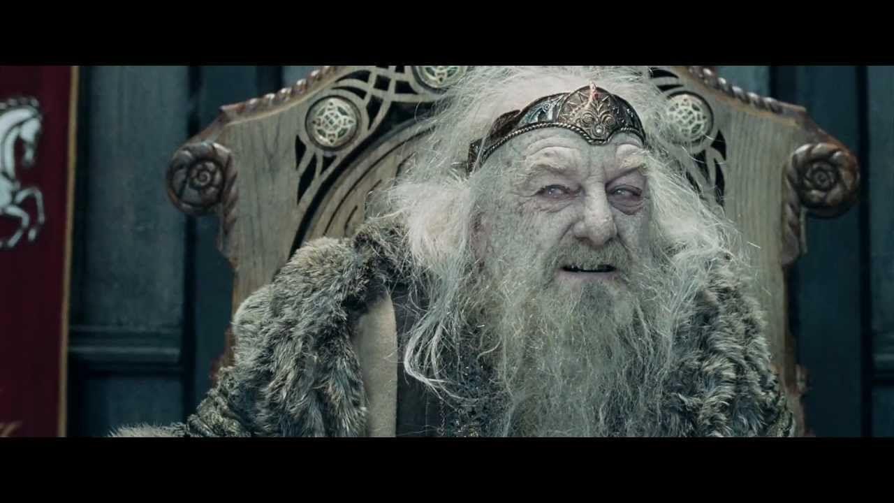 ¿Qué hubiera pasado si Gandalf no hubiera curado a Théoden?