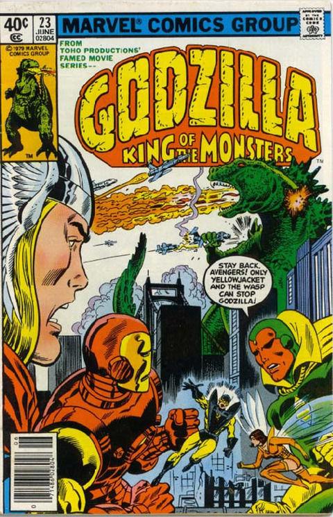 Verdadero o Falso. Godzilla apareció en varios cómics de Marvel.