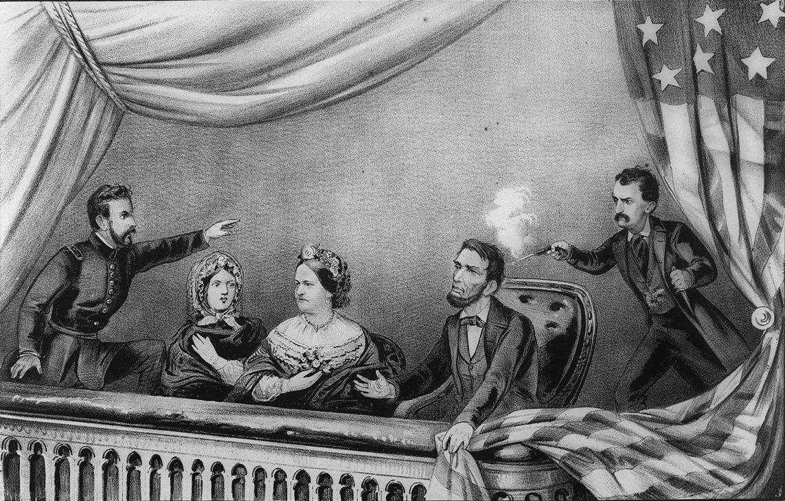 ¿Dónde mató John Wilkes Booth al reelegido Abraham Lincoln?