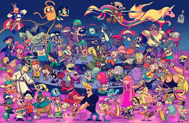 6786 - ¿Qué personaje de dibujos animados serías?