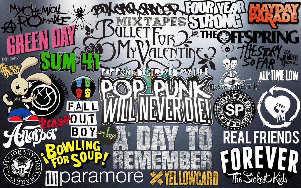 6828 - ¿Conoces estas bandas de Pop Punk?