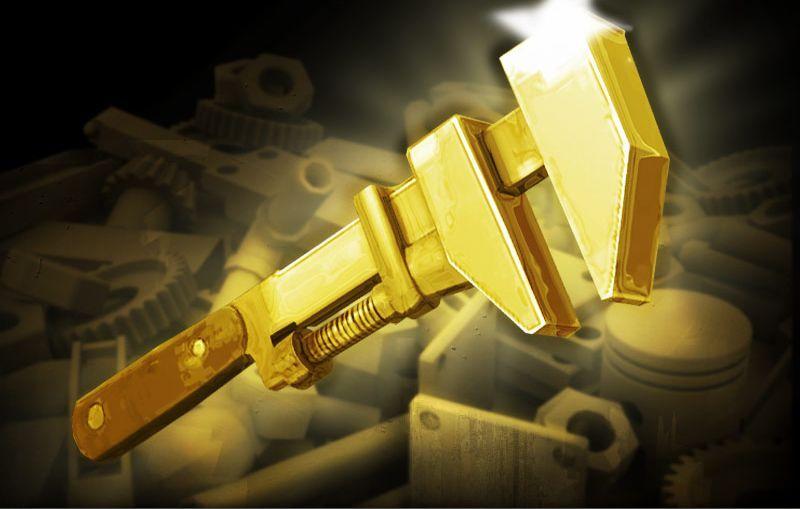 Preparen sus bodys.¿Cuántas llaves inglesas doradas se destruyeron en el evento de caridad del 2010?