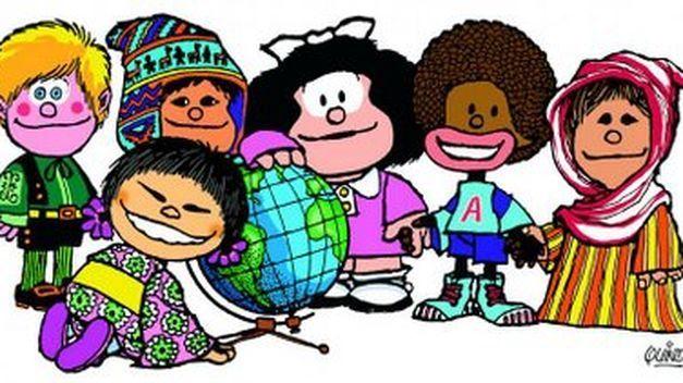 ¿Mafalda es la portavoz de qué organización mundial?