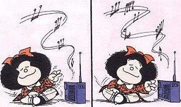 Mafalda ama a una banda inglesa, ¿Cuál es?