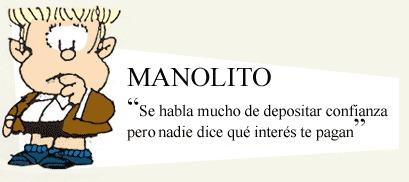 ¿Qué es lo que más ama Manolito?