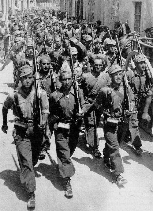 ¿Qué partido estuvo al mando de la República cuando comenzó la Guerra Civil?