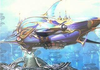 ¿Cuál de estos barcos voladores no ha sido contruido en Gaia?