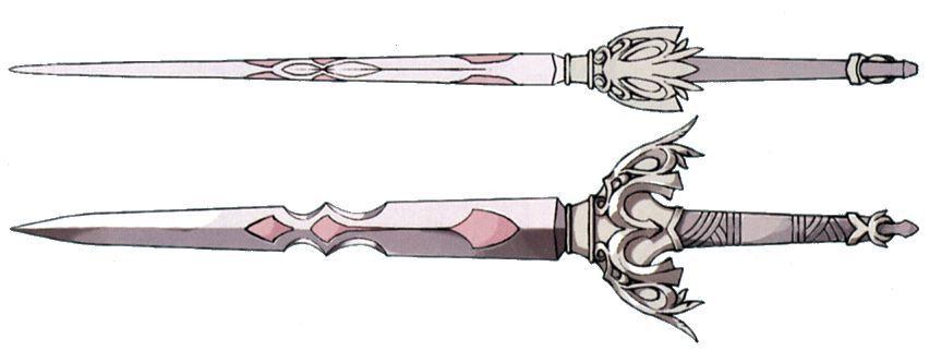 ¿Cuál de estas armas no es equipable por Steiner?