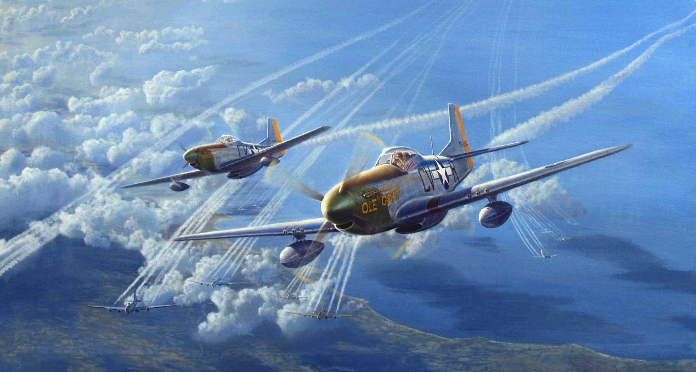 7053 - ¿Puedes relacionar estos aviones y cabinas de la WWII con las imágenes?