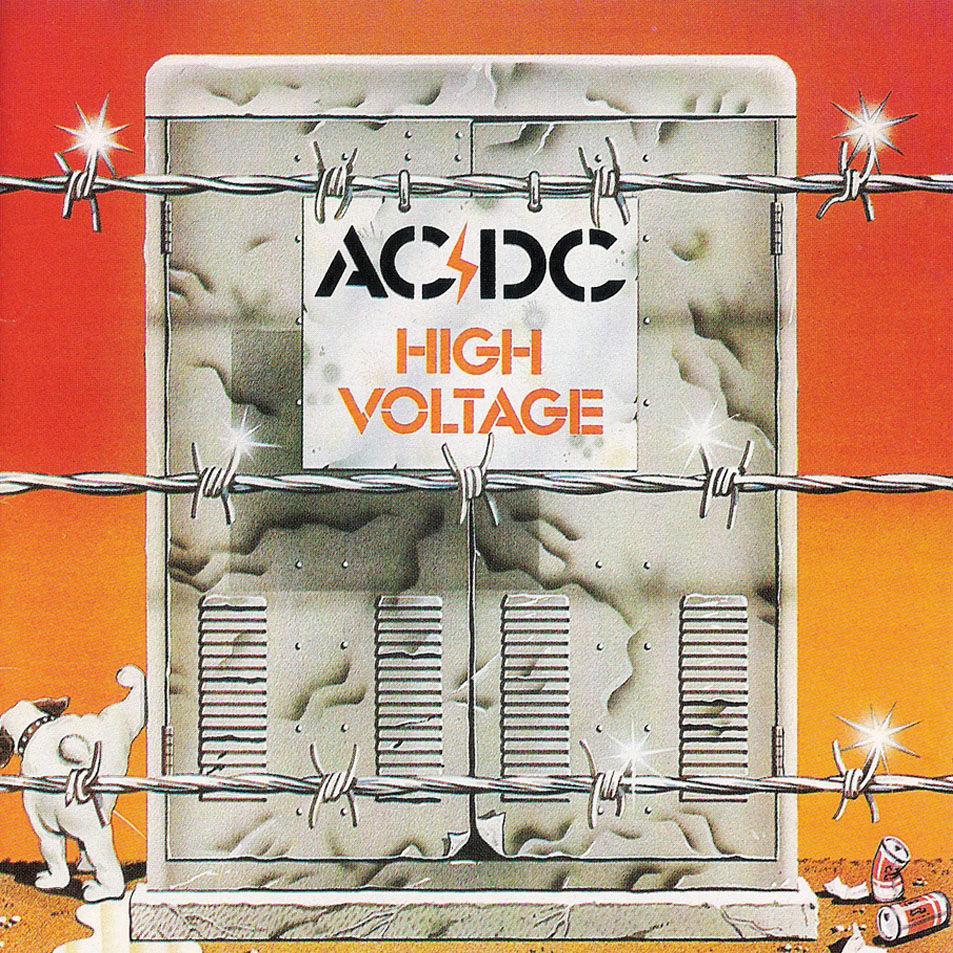 ¿A qué edición pertenece esta portada del High Voltage de AC/DC?