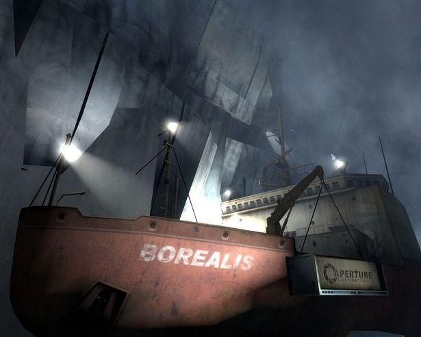 (Easter Egg) ¿En qué capítulo se encuentra el carguero Borealis?