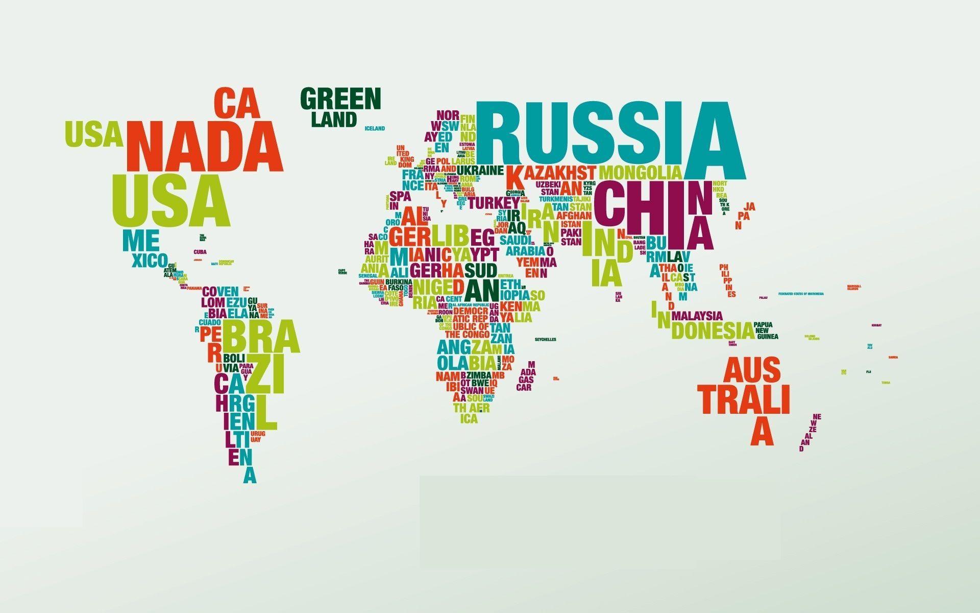 7138 - ¿Cuánto sabes de los nombres oficiales de países?