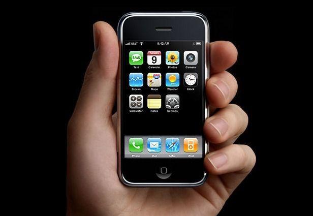 ¿En qué año se lanzó el primer Iphone?
