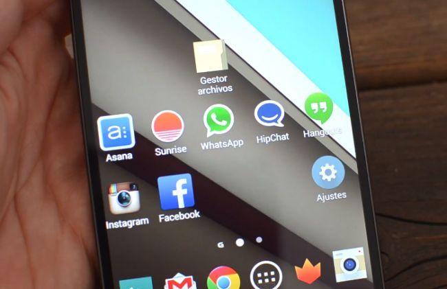 ¿Cuál de estos móviles ganó un premio como mejor pantalla del mundo en 2014?