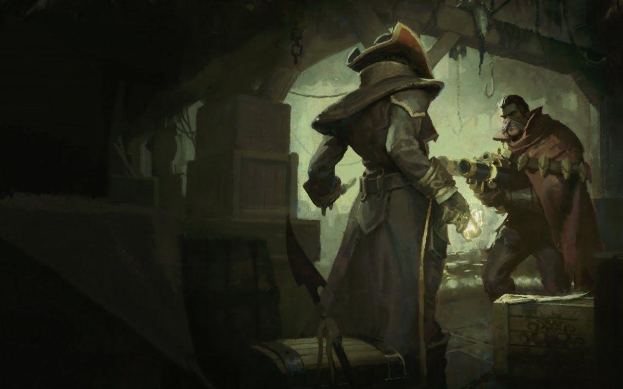 ¿Cómo comenzó la rivalidad de Twisted Fate y de Graves?