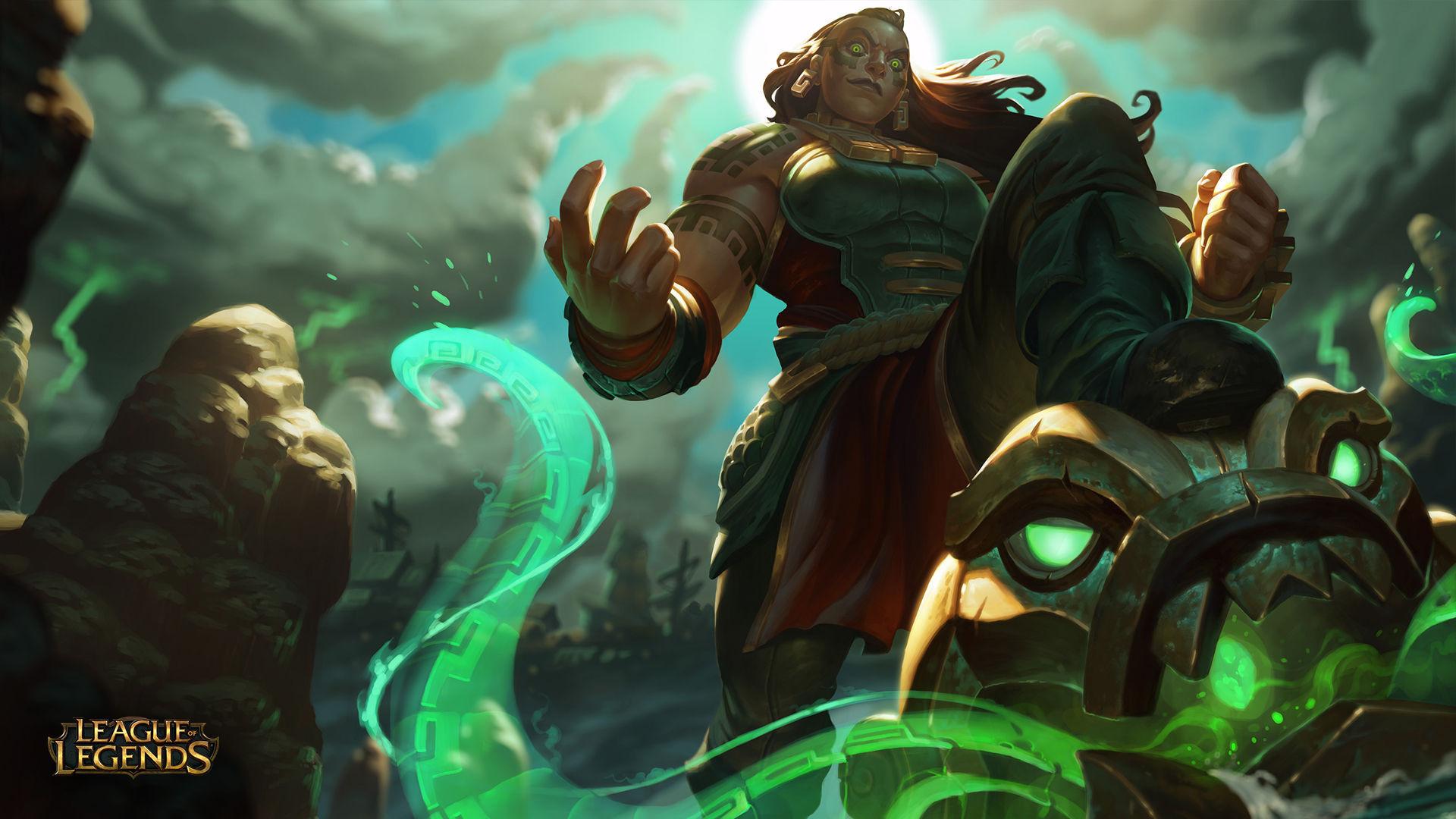 ¿Cuál es el propósito de Illaoi en la Liga, además de difundir la palabra de su dios?