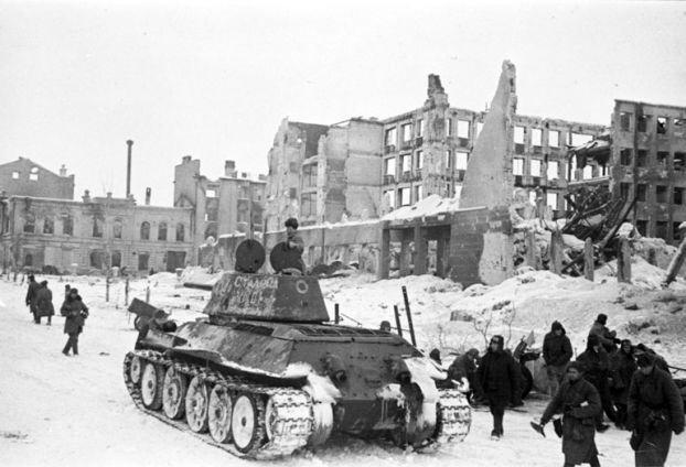 ¿En qué momento empezó Alemania a perder la guerra en el frente oriental?