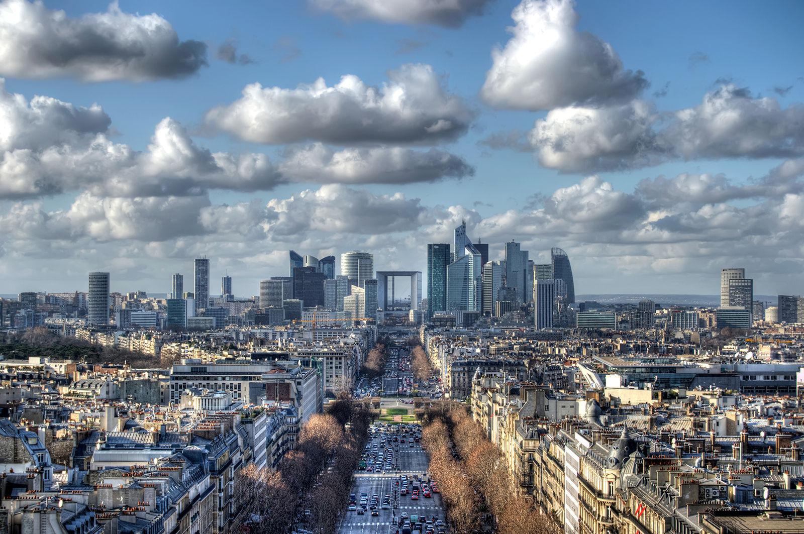 El distrito financiero de París, Se llama...