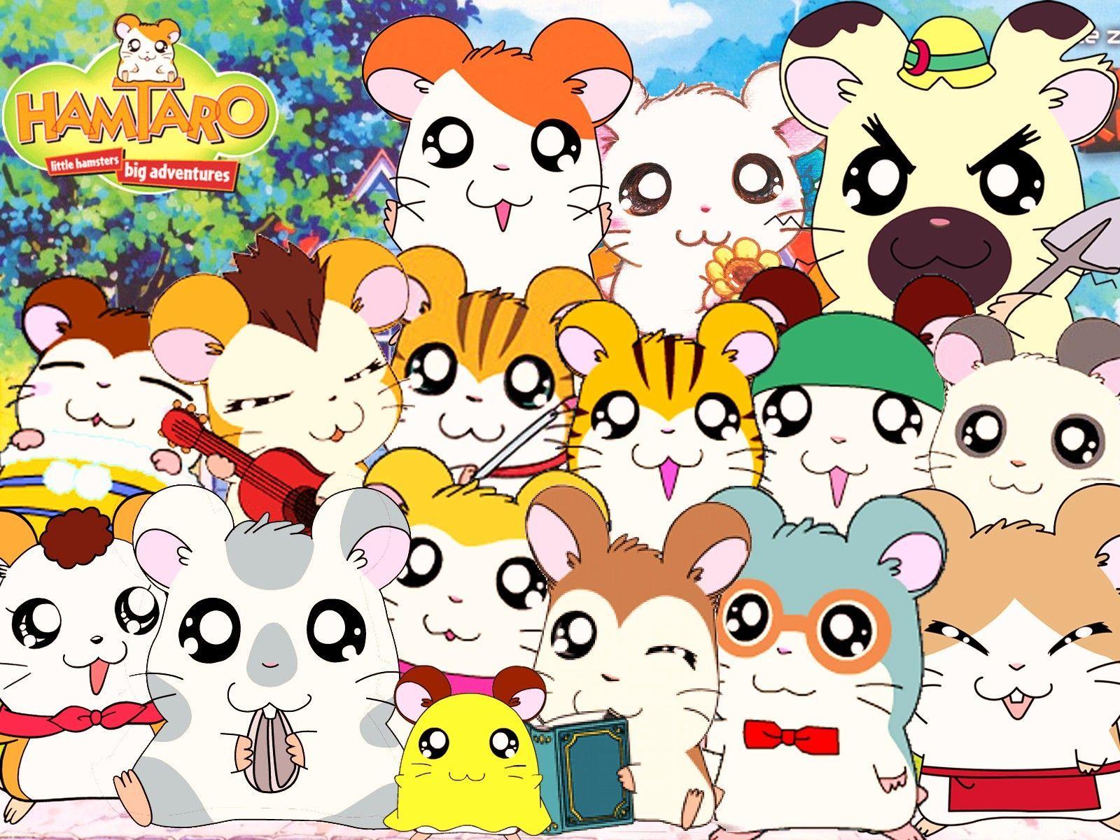 7244 - ¿Sabrías identificar a los personajes de Hamtaro?