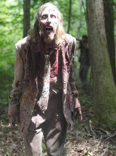 Te encuentras frente a frente con un zombie/caminante/errante