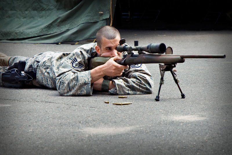 ¿De dónde parte el fusil de precisión M24?