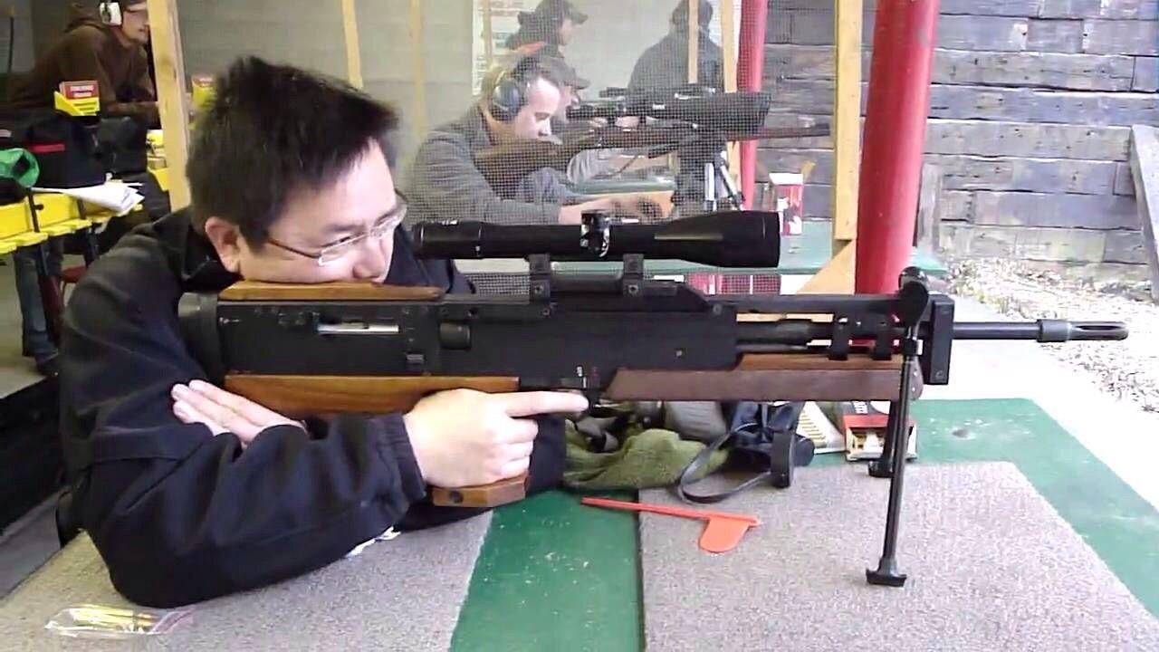 Nombre de este fusil de precisión