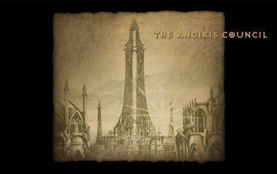 Entras en territorio hostil: ¿De cuántos ángeles se compone el consejo de Angiris?