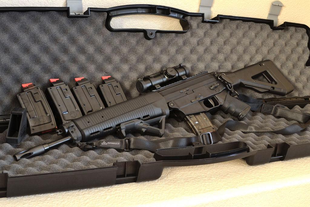 Nombre de este fusil de asalto