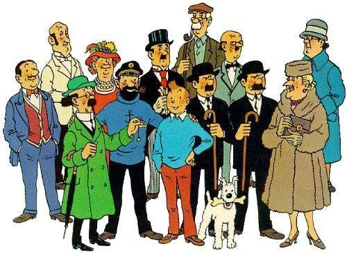 ¿A cuál de los siguientes personajes conoció antes Tintín?