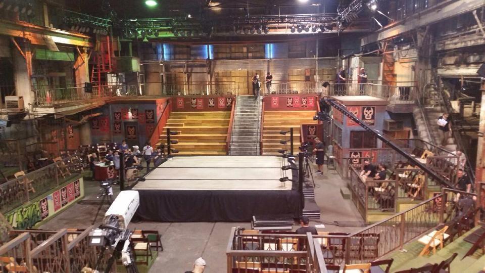 ¿Cómo se llama el recinto donde se graba Lucha Underground