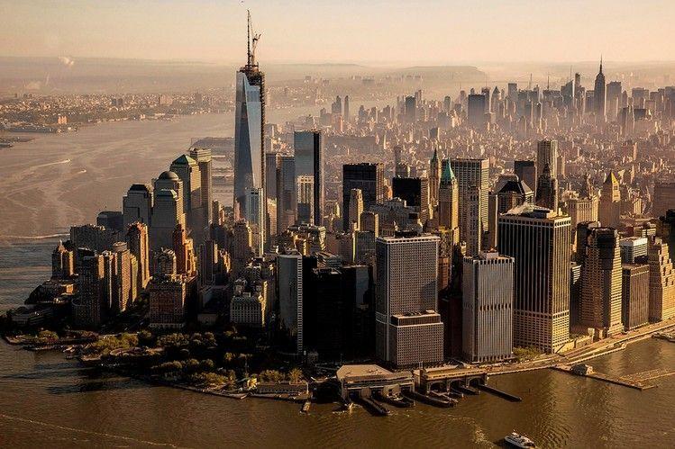 La freedom tower, edificio más alto de Norte América, ha sido erigido en...