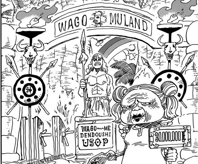 Y por último, en Skypiea existe un parque llamado 'Wago Muland' en tributo a Ussop ¿a qué se debe esto?
