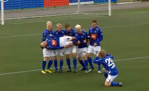 El Stjarnan se hizo famoso por sus celebraciones de gol ¿a dónde tendrás que ir para verlo jugar?
