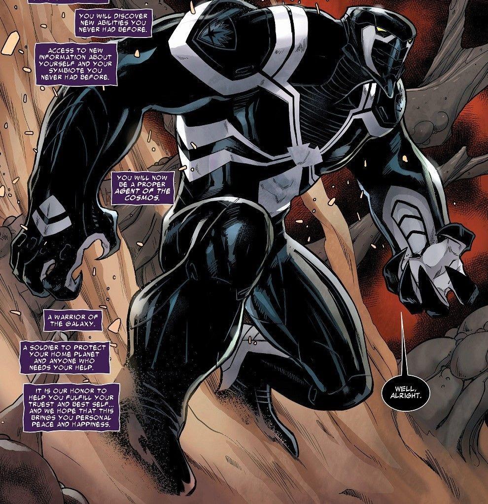 Actualmete, ¿quién es el huésped del simbionte de Venom?