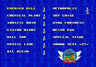 En Sonic 2, ¿qué podías hacer si activabas los trucos (cheats)?