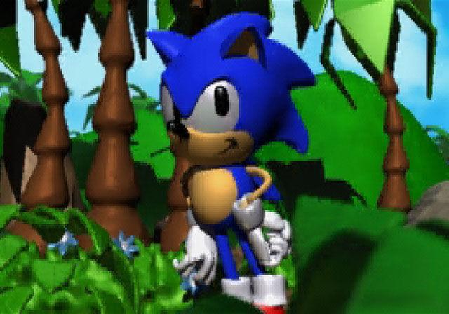 ¿En qué juego Sonic apareció por primera vez en 3D?