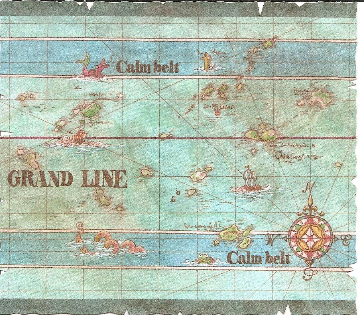 ¿Cuál era la isla a la que se dirigían los mugiwara tras salir de la Isla Gyojin?
