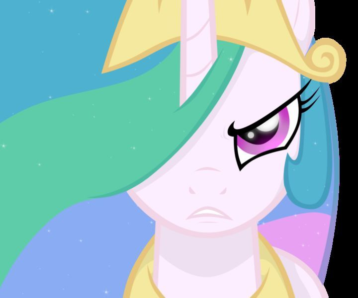 ¿En cuál episodio se ve por primera vez que Celestia está muy enojada con Twilight?