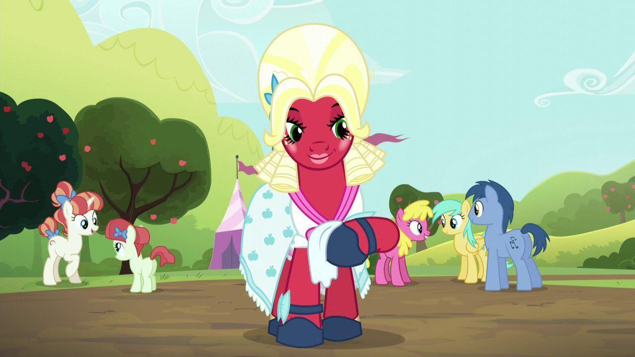 ¿Cómo se llama el episodio dónde Big McIntosh se disfraza de yegua?