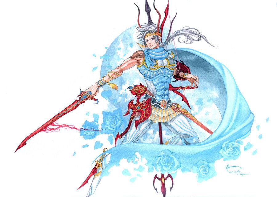 ¿De qué forma parte el protagonista de Final Fantasy II?