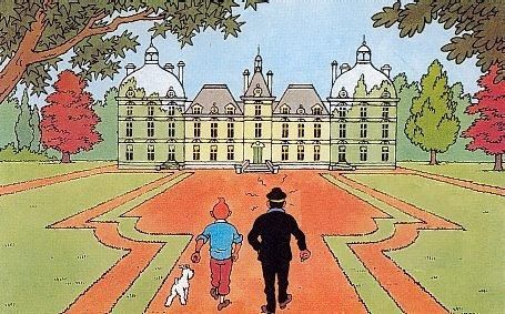 ¿A quién le pertenece el castillo de Moulinsart al principio de