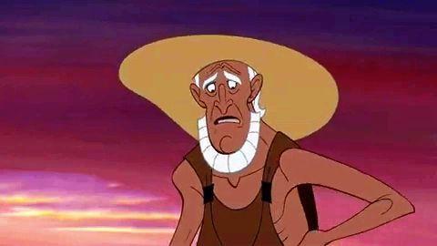 ¿Cómo se llama el padre adoptivo de Hércules?