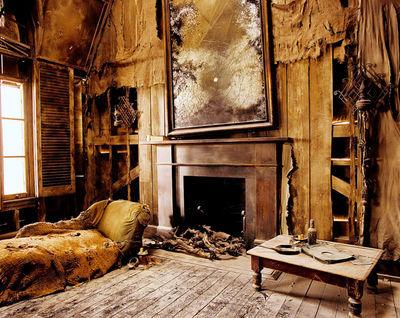 En la época de Los Merodeadores, ¿quién habitaba La Casa de los Gritos una vez al mes?