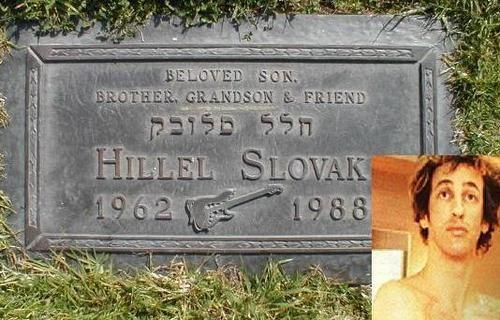 ¿Cúal fue el primer álbum sacado tras la muerte de Hillel Slovak