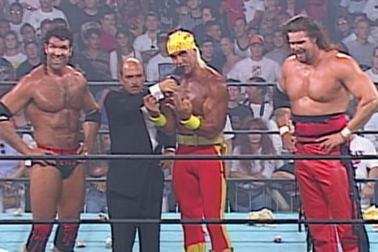 ¿Durante qué evento de la WCW se formó The New World Order en 1996?