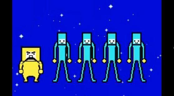 ¿En qué minijuego pudimos volver a ver a los hombres azules de GBA renovados en un minijuego completamente diferente?