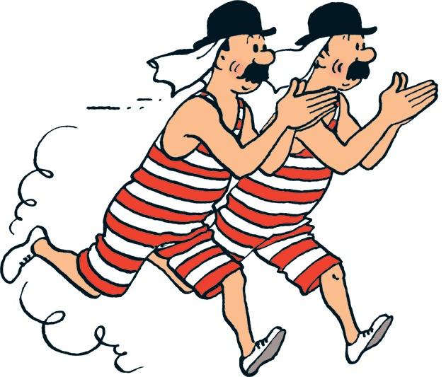 ¿Qué dos países inventa Hergé para