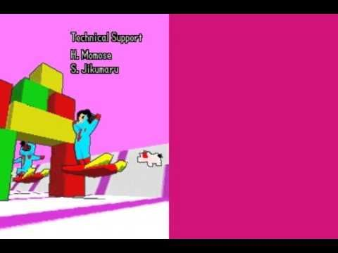 ¿Cómo se llama el minijuego de los créditos de Rhythm Paradise en NDS?